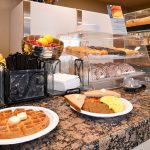 breakfast items at Best Western Executive Inn & Suites