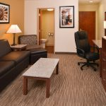 Suite living area at Best Western Executive Inn & Suites